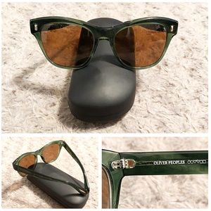 Oliver Peoples sunglasses paid $445 good condition